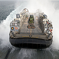 A Landing Craft Air Cushion Enters by Stocktrek Images