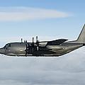 A Mc-130p Combat Shadow In Flight by Gert Kromhout