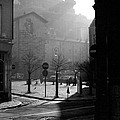 A Square In Old Brussels by Peter Mooyman