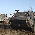 A Tpz Fuchs Armored Personnel Carrier by Timm Ziegenthaler