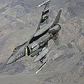 A U.s. Air Force F-16 Fighting Falcon by Stocktrek Images