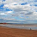 A Walk On The Beach by Jeff Galbraith