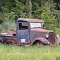 Abandoned Truck by Athena Mckinzie