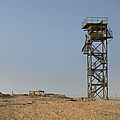 Abandoned Watchtower In The Desert by Noam Armonn