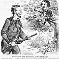 Abraham Lincoln Cartoon by Granger