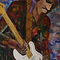 Abstract Jimi Hendrix by Paul F Labarbera