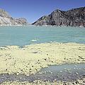 Acidic Crater Lake, Kawah Ijen Volcano by Richard Roscoe