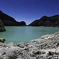 Acidic Crater Lake On Kawah Ijen by Richard Roscoe