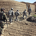 Afghan National Army And U.s. Soldiers by Stocktrek Images