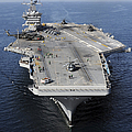 Aircraft Carrier Uss Carl Vinson by Stocktrek Images