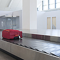 Airport Baggage Claim by Jaak Nilson
