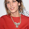 Alexa Chung At Arrivals For The by Everett