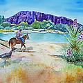 Texas - Along The Rio-grande by Christine Lathrop