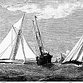 Americas Cup, 1887 by Granger