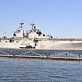Amphibious Assault Ship Uss Wasp by Stocktrek Images