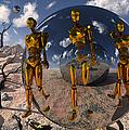 An Advanced Civilization Uses Time by Mark Stevenson
