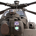 An Ah-64d Apache Helicopter by Ramon Van Opdorp