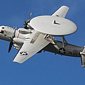 An E-2c Hawkeye In Flight by Stocktrek Images