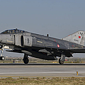 An F-4 Phantom Of The Turkish Air Force by Giovanni Colla