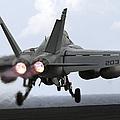 An Fa-18e Super Hornet Launches by Stocktrek Images