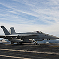An Fa-18f Super Hornet Takes by Stocktrek Images