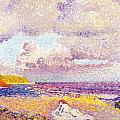 An Incoming Storm by Henri-Edmond Cross