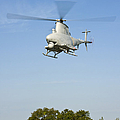 An Mq-8b Fire Scout Unmanned Aerial by Stocktrek Images
