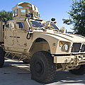 An Oshkosh M-atv Mine Resistant Ambush by Stocktrek Images