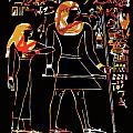 Ancient Egyptian Hieroglyphs by James Hill