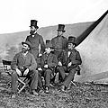 Antietam: Officials, 1862 by Granger