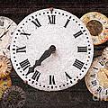 Antique Clocks by Elena Elisseeva