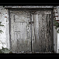 Antique Weathered Wooden Doors by John Stephens
