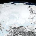 Arctic Sea Ice by Stocktrek Images