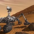 Artist Concept Of Nasas Mars Science by Stocktrek Images