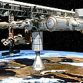 Artwork Of The International Space Station by David Ducros