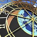 Astronomical Clock, Artwork by Pasieka