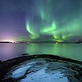 Aurora Borealis Over Vagsfjorden by Arild Heitmann