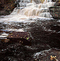 Autumn Waterfall by Dave Mills
