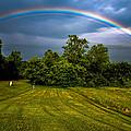 Backyard Rainbow by Brian Stevens