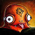 Bad Boy Glob by Leanne Wilkes