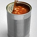Baked Beans In A Can by Victor De Schwanberg