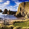 Ballintoy, County Antrim, Ireland Beach by The Irish Image Collection