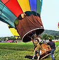 Balloonist - Ready For Takeoff by Paul Ward
