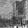 Bank Panic, 1873 by Granger