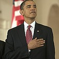 Barack Obama At A Public Appearance by Everett
