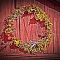 Barn Wreath by Dave Dresser
