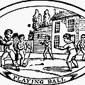 Baseball Game, 1820 by Granger