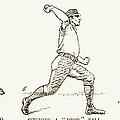 Baseball Pitching, 1889 by Granger