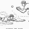 Baseball Players, 1889 by Granger