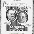 Baseball Program, 1923 by Granger